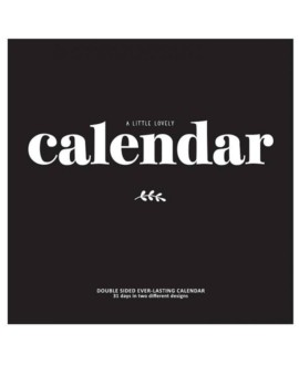 A little lovely company kalender til 159,- Hurtig levering