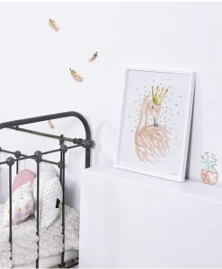 Lilipinso flamingo plakat til 129,- Hurtig levering